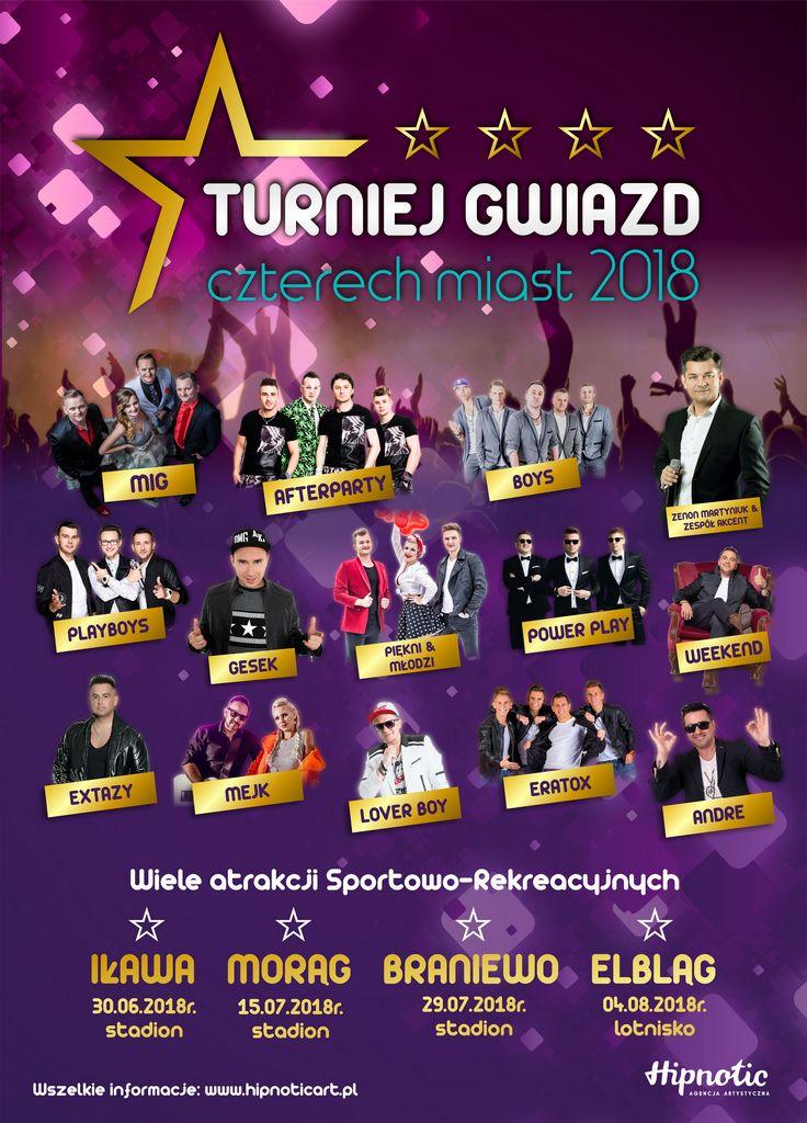 Plakat Turniej Gwiazd Wmtvpl