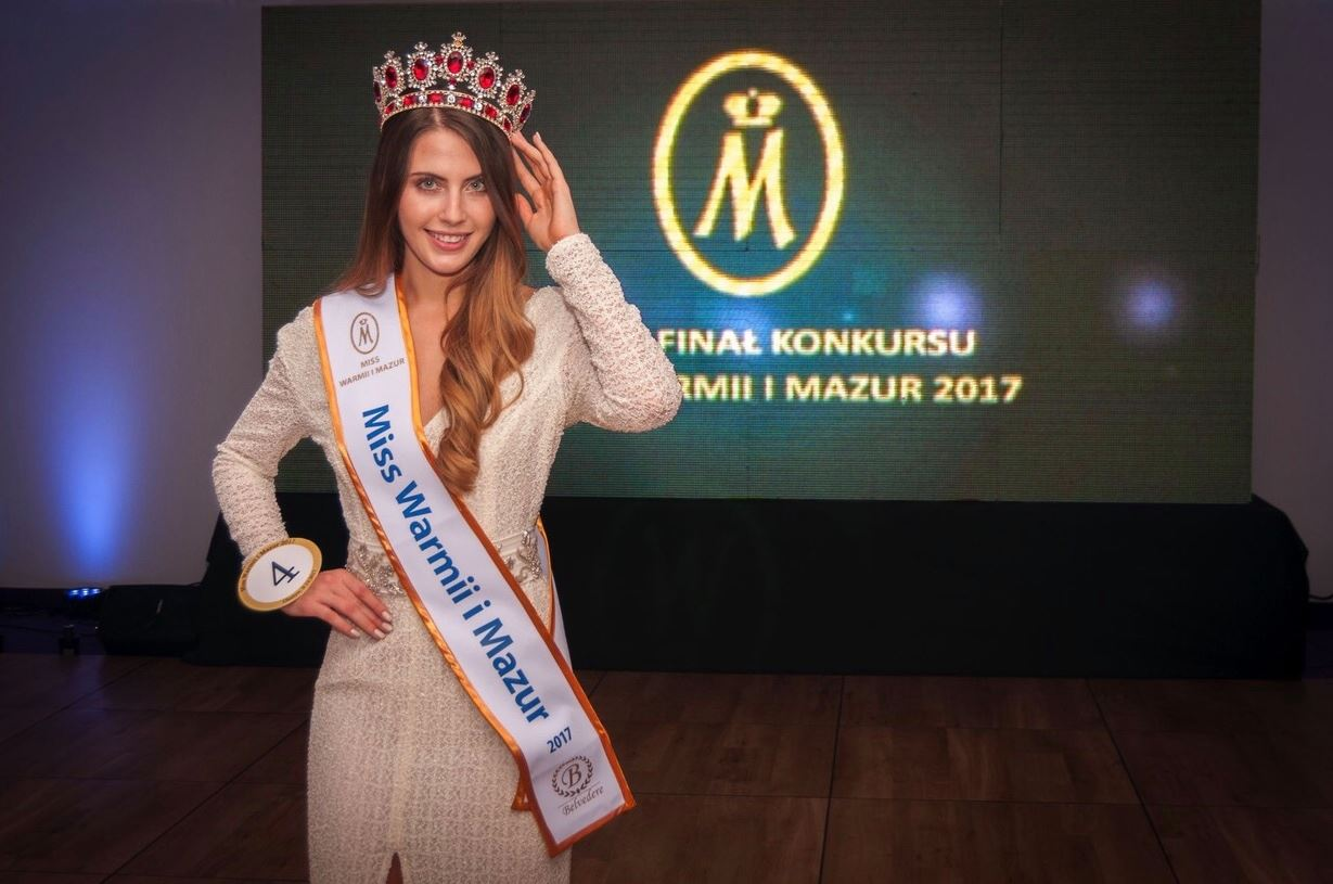 Aleksandra Grysz Miss Warmii i Mazur Miss Earth Poland, Aleksandra Grysz z Iławy zdobyła koronę najpiękniejszej dziewczyny w polskiej edycji Miss Earth 2018, Miss Warmii i Mazur
